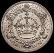 London Coins : A166 : Lot 1564 : Crown 1932 ESC 372, Bull 3641 a sharp and well-defined early striking, UNC and lustrous with minor c...