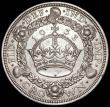London Coins : A166 : Lot 1569 : Crown 1933 ESC 373, Bull 3644 NEF with some small spots and contact marks