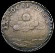 London Coins : A166 : Lot 1597 : Farthing Pattern or Medalet Mary II in silver undated, Montagu 19 Obverse bust right MARIA . II . DE...