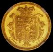 London Coins : A166 : Lot 1666 : Half Sovereign 1831 Small Size Plain edge Proof S.3830 in an NGC holder and graded PF61 Ultra Cameo....