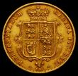 London Coins : A166 : Lot 1680 : Half Sovereign 1877 Marsh 452 Die Number 127 Near VF