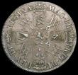 London Coins : A166 : Lot 1733 : Halfcrown 1693 3 over inverted 3, Small T in REX . ET, F over E in FR,  ESC 521, Bull 859 appears as...