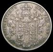 London Coins : A166 : Lot 1771 : Halfcrown 1828 ESC 648, Bull 2377 Good Fine with grey tone, the obverse with some light tone spots, ...
