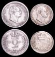 London Coins : A166 : Lot 1875 : Maundy Set 1831 ESC 2436, Bull 2547 GVF to GEF