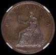 London Coins : A166 : Lot 1952 : Penny 1806 Incuse Curl Peck 1342 in an NGC holder and graded MS64 RB