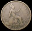 London Coins : A166 : Lot 1982 : Penny 1862 Freeman 38 dies 2+G, Extremely Rare and rated R18 by Freeman, VG the reverse slightly bet...
