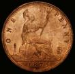London Coins : A166 : Lot 1995 : Penny 1875H Freeman 85 dies 8+J, UNC or very near so with around 75% subdued lustre, very rare and d...