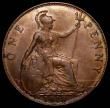 London Coins : A166 : Lot 2011 : Penny 1918KN Freeman 184 dies 2+B EF and attractively toned, rare in this high grade