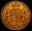 London Coins : A166 : Lot 2099 : Sovereign 1855 WW Incuse S.3852D Good Fine/NVF