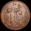 London Coins : A166 : Lot 2660 : Belgium medal 1830-1880 50 Years of the Constitution 37mm diameter in bronze, by L.Wiener, A/UNC