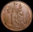 London Coins : A166 : Lot 2661 : Belgium medal 1830-1880 50 Years of the Constitution 37mm diameter in bronze, by L.Wiener, EF with a...