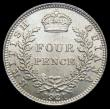 London Coins : A166 : Lot 2665 : British Guiana Fourpence 1921 KM#29 GEF/UNC and lustrous