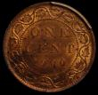 London Coins : A166 : Lot 2673 : Canada One Cent 1900H KM#7 in a PCGS holder and graded MS64 RB