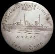 London Coins : A166 : Lot 2869 : Saudi Arabia Riyal in silver, 30.5mm diameter, KM#18 the reverse engraved with a ship sailing left, ...
