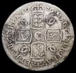 London Coins : A166 : Lot 3022 : Shilling 1676 ESC 1047, Bull 536 VG the reverse slightly better, unevenly toned