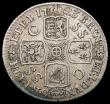 London Coins : A166 : Lot 3024 : Shilling 1723 SSC First Bust ESC 1176, Bull 1586 Fine/Good Fine with some haymarking