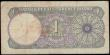 London Coins : A166 : Lot 379 : Qatar & Dubai Currency Board 1 Riyal Pick 1a ND (circa 1960's) serial number A/3 712531. Th...