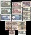 London Coins : A166 : Lot 431 : Spain El Banco de Espana (18) in mixed grades comprising 5 Pesetas Pick 140 dated 16th August 1951 (...