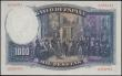 London Coins : A166 : Lot 436 : Spain El Banco De Espana 1000 pesetas Pick 84A Unissued note dated 25th April 1931 serial number 0,3...
