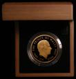 London Coins : A166 : Lot 598 : Five Pound Crown 2008 Prince Charles 60th Birthday Gold Proof S.L19 FDC in the Royal Mint box of iss...