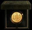 London Coins : A166 : Lot 618 : Five Pounds 2002 Gold BU in the green box of issue with certificate