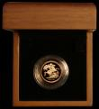 London Coins : A166 : Lot 640 : Half Sovereign 2009 Proof FDC in the wooded box with outer black card box, no certificate