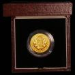 London Coins : A166 : Lot 737 : Sovereign 1989 500th Anniversary of the First Gold Sovereign Proof FDC in the box of issue with cert...