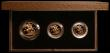 London Coins : A166 : Lot 800 : The 1983 United Kingdom Gold Proof Set, the three coin set S.PGS04, Two Pounds, Sovereign and Half S...