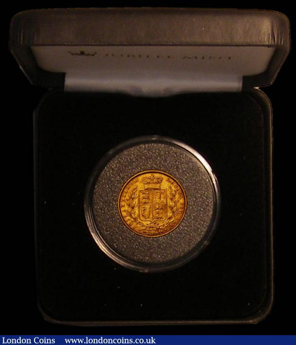 Sovereign 1869 Marsh 53, Die Number 37 GF/NVF in a Jubilee Mint box with certificate : English Cased : Auction 167 : Lot 132