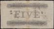 London Coins : A167 : Lot 1429 : Plymouth-Dock Bank, Devonshire 5 Pounds dated 6th January 1820 No.2104 for Thomas Clinton ...