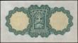 London Coins : A167 : Lot 1546 : Ireland (Republic) Currency Commission Lady Lavery 1 Pound 'War Code' Letter T in purple P...