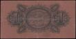 London Coins : A167 : Lot 1642 : Straits Settlements 1 Dollar dated 10th July 1916 series C/86 62013, Pick1c, pressed VF