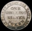 London Coins : A167 : Lot 1734 : Shilling 19th Century Hampshire - Newport (Isle of Wight) 1811 Davis 22 GEF and lustrous with a few ...