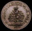 London Coins : A167 : Lot 1746 : Charles I Scottish Coronation 1633 29mm diameter in silver by N.Briot, Eimer 123, Obverse: Bust crow...