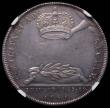 London Coins : A167 : Lot 1754 : Coronation of James II 1685 34mm diameter in silver Eimer 273 the official Coronation issue Obverse:...