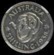 London Coins : A167 : Lot 1866 : Australia Shilling 1938 Proof KM#39 in an NGC holder and graded PF63, only 8 examples have been grad...