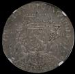 London Coins : A167 : Lot 1985 : Netherlands - Overyssel Ducaton (Silver Rider) 1734 KM#80 Dav 1829 probably as struck and encapsulat...