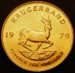 London Coins : A167 : Lot 2016 : South Africa Krugerrand 1979 KM#73 UNC and lustrous