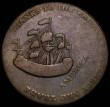 London Coins : A167 : Lot 2056 : USA William Pitt Copper Halfpenny Token 1766 Refers to his efforts to have the Stamp Act repealed, B...