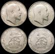 London Coins : A167 : Lot 2137 : Shillings (5) 1902 GEF and lustrous, 1903 GVF/NEF, 1904 Fine/NVF, 1906 EF/AU, 1910 EF