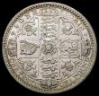 London Coins : A167 : Lot 2432 : Florin 1849 ESC 802, Bull 2815 Lustrous EF