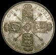 London Coins : A167 : Lot 2441 : Florin 1911 ESC 929, Bull 3755, Davies 1731 dies 2A Lustrous UNC with hints of toning, in an LCGS ho...