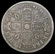 London Coins : A167 : Lot 2447 : Halfcrown 1671 VICESIMO TERTIO ESC 468, Bull 457 About Fine/Fine with grey tone
