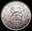 London Coins : A167 : Lot 2545 : Sixpence 1923 ESC 1809, Bull 3886 UNC or very near so, in an LCGS holder and graded LCGS 75