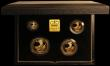 London Coins : A167 : Lot 3 : Britannia Gold Proof Set 1996 the 4-coin set comprising £100 One Ounce, £50 Half Ounce, ...