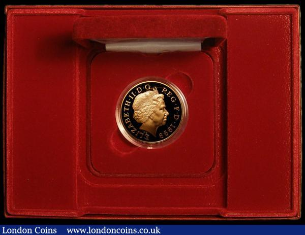Five Pound Crown 1999 Diana Memorial Gold Proof S.L6 FDC in the Royal Mint box of issue with certificate : English Cased : Auction 167 : Lot 52