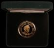 London Coins : A167 : Lot 55 : Five Pound Crown 2002 Queen Mother Memorial Gold Proof S.L11 FDC in the Royal Mint box of issue with...