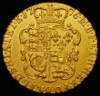 London Coins : A167 : Lot 608 : Guinea 1776 S.3728 Good Fine with a small rim nick and a gentle edge bruise
