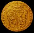 London Coins : A167 : Lot 642 : Half Guinea 1752 S.3685 About VF, scarce and seldom seen in grades above Fine