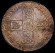 London Coins : A167 : Lot 751 : Halfcrown 1698 ESC 554, Bull 1034 NEF/GVF with some golden tone and a few light haymarks